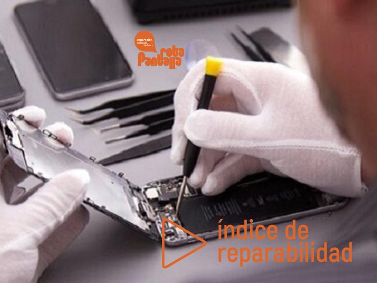 ¿Qué es el índice de reparabilidad y cómo se calcula?